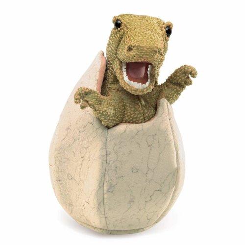 Hand Puppet - Folkmanis - Dinosaur Egg New Toys Soft Doll Plush 3134