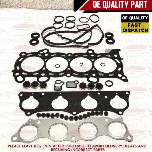FOR HONDA CIVIC 2.0 EP3 INTEGRA DC5 TYPE R ENGINE HEAD GASKET K20A2 STEEL MLS