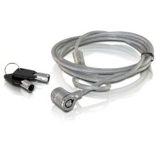 DeLOCK Notebook security lock with key 1.8m cable lock
