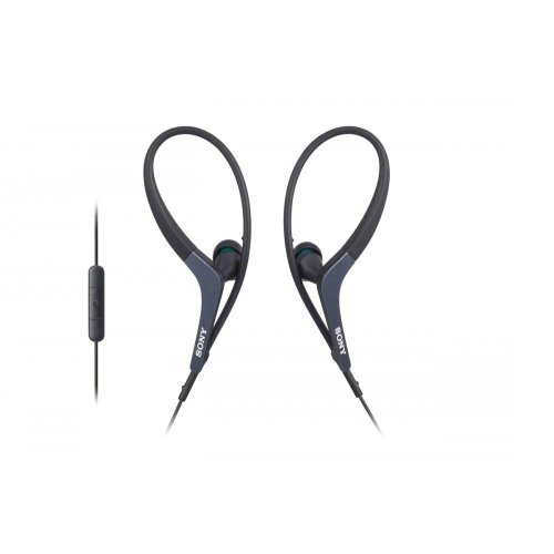 Sony MDR-AS400 Sports Headphones for Apple Devices - Black