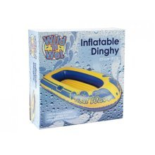 "73"" 14g Junior Tidal Wave Dinghy With Repair Kit - Inflatable Boat Raft New -  inflatable dinghy boat raft new aqua fun outdoor leisure tidal wave 91"