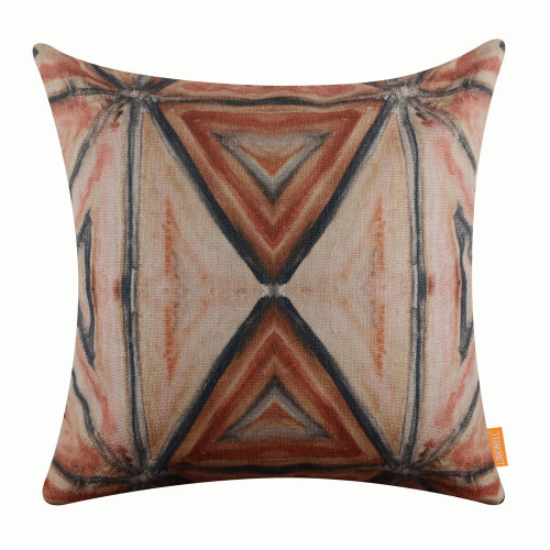 """18""""x18"""" Tribal Pattern Burlap Pillow Cover Cushion Cover"""