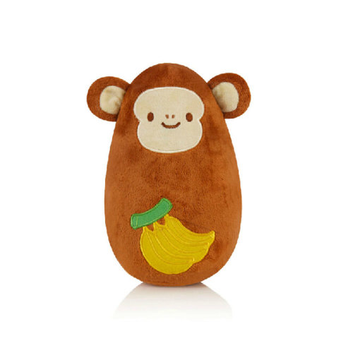 Lovely Monkey Tumbler Roly Poly Toys Push and Pull Toys