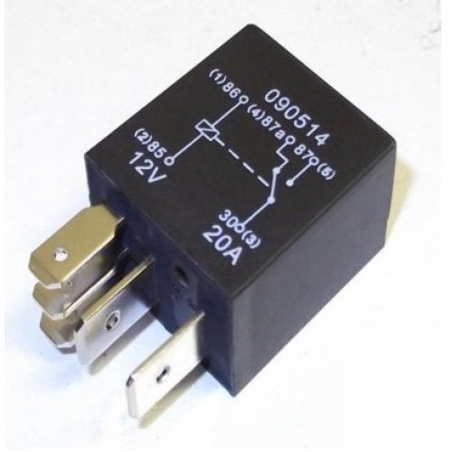 20 amp relay 12v A Wiring Diagram For Relay on