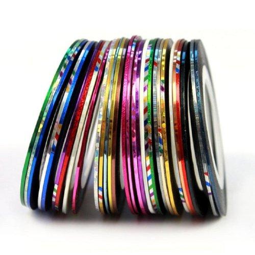 30 Nail Art Stripes