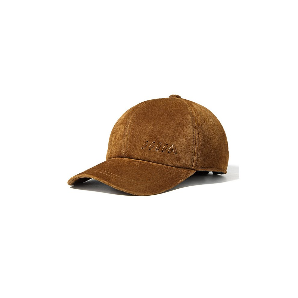 b1c611919855f Men Genuine Leather Baseball Cap Casual Outdoor Sun Hat on OnBuy