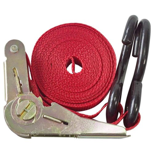 25mm Heavy Duty Ratchet Tie Down - Strap Securing Van 45m Gs New -  ratchet tie down 25mm strap securing van 45m gs new