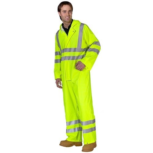 Click PUC471SYXXL Hi Vis Yellow Breathable Coverall EN471 XXL