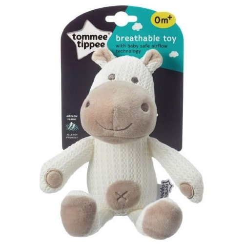 Tommee Tippee Breathable Toy - Hippo - 0m+