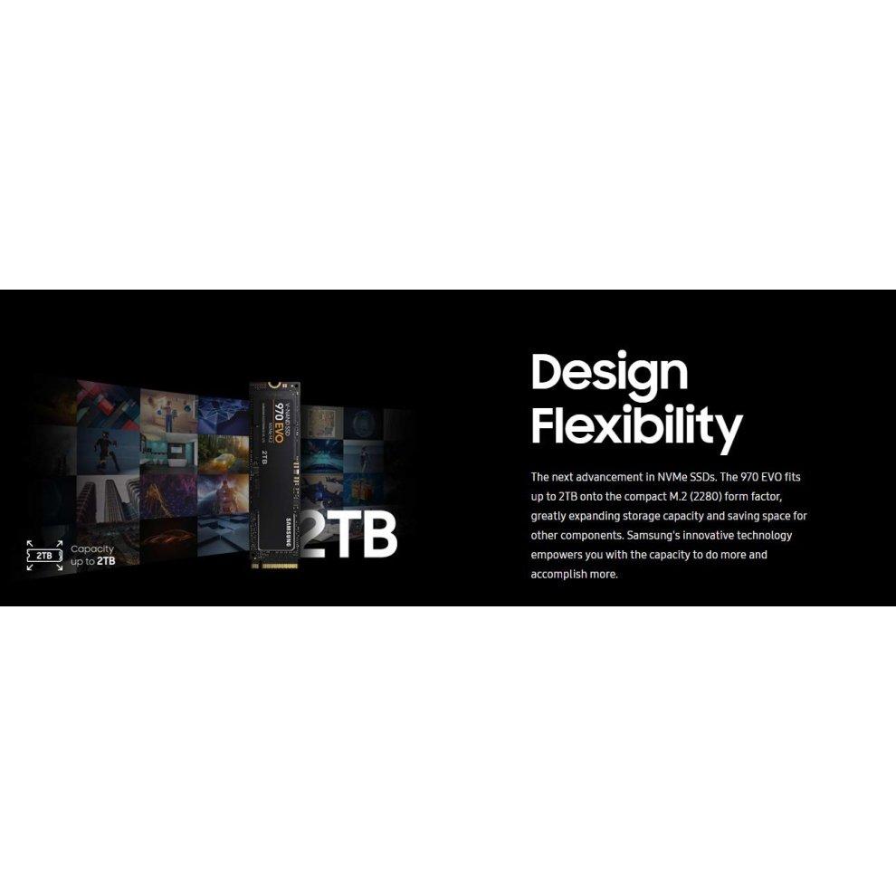 Samsung 970 EVO 250GB - NVMe PCIe M 2 2280 SSD (MZ-V7E250BW)