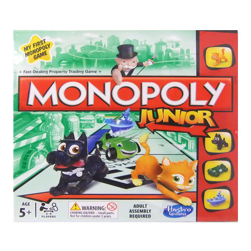 My First Monopoly Game Monopoly Junior