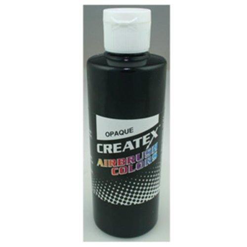 Createx 5211-08 8Oz Airbrush Paint - Opaque Black