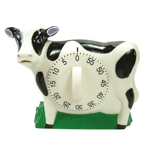 Eddingtons Cow Timer With Mooing Noise - Countdown 60min Batteries Included -  cow timer mooing noise eddingtons countdown 60min batteries included