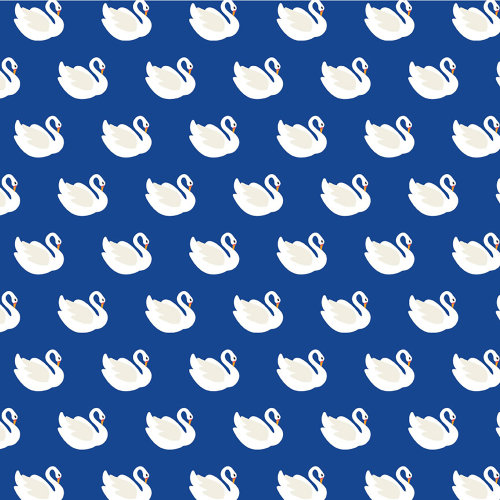 """American Crafts Animal Single-Sided Cardstock 12""""X12""""-Swan Dive"""