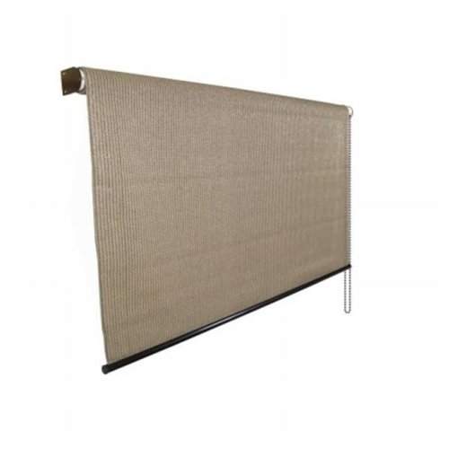 Gale Pacific 799870460068 95 Percent Exterior Shade 6 ft. x 8 ft. Walnut