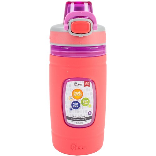 Bubba Flo Refresh 16oz Water Bottle-Coral