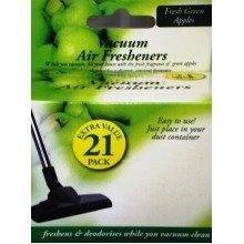 21pack Vacuum Scented Air Fresheners Green Apple Hoover Dust Bags Filters Sticks Vac Freshner Cleaner