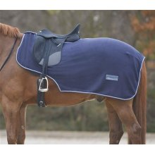 Fleece Exercise Sheet Horse Quarter Kidney Cover with Saddle Cut-Out