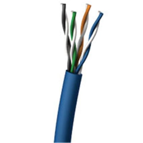 Cables To Go 27351 500ft Cat5E UTP 350 MHz Solid PVC CMR-Rated Cable - Blue