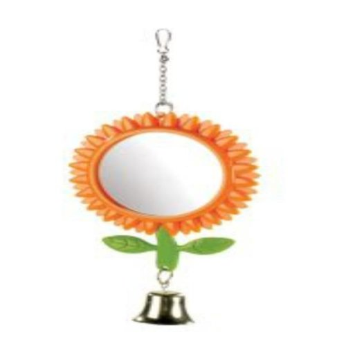 Classic Sunflower Budgie Mirror (Pack Of 12)