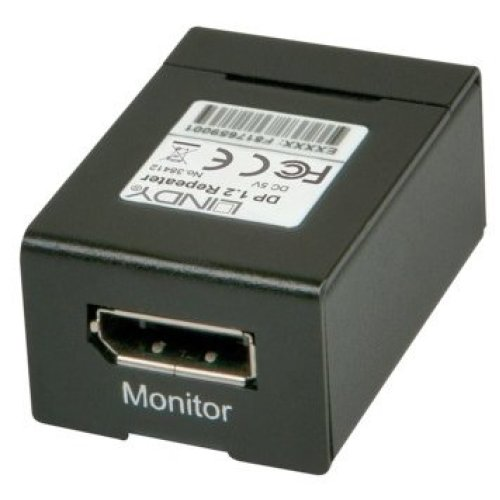 Lindy 38412 AV repeater Black AV extender