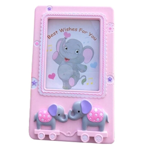 Creative Elephant Baby&Kids Picture Frame Photo Frames Plastic Frames,Pink