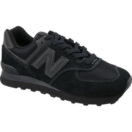 New Balance ML574ETE Mens Black sneakers