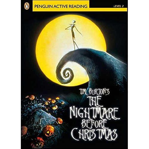 PLAR2:Nightmare before Christmas Book and CD-ROM Pack: Level 2 (Penguin Active Reading (Graded Readers))