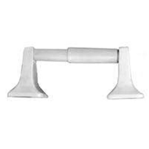 Mintcraft L3656-51-07-3L Square Toilet Paper Holder, White