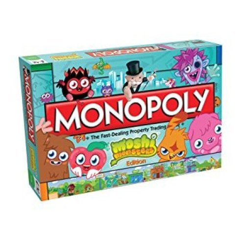 Moshi Monsters Monopoly Family Board Game Brand New Sealed