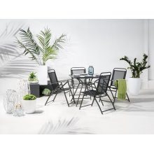 Garden Table and Chairs 4/6 Seater Dining Set - LIVO