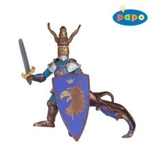 Papo Weapon Master Eagle Figurine - Knight New 39936 Knights Figure Multicolour -  papo eagle knight new 39936 weapon knights master figure