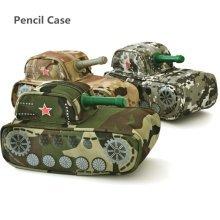 Tank Shape Pencil Case Bag Pen Box