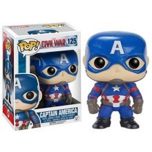 Funko - POP! Marvel: Cap America 3 - Captain America