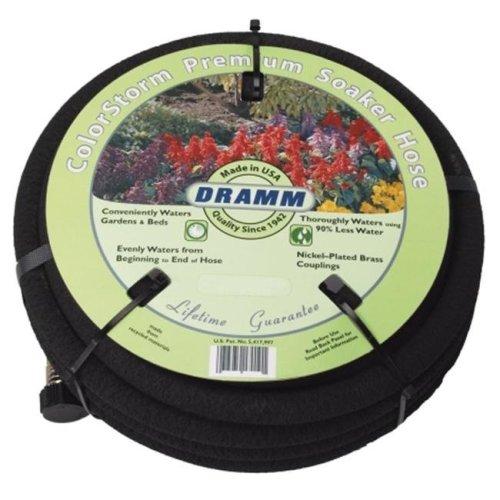 Dramm Corporation 50 Black ColorStorm Premium Soaker Hose  10-17010