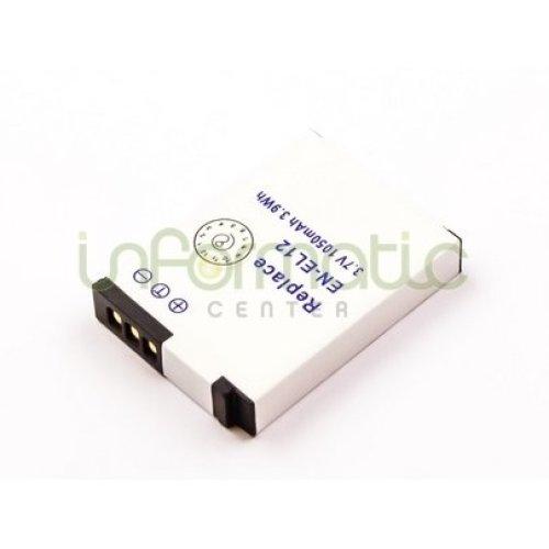 NIKON EN-EL12 Battery (For S6100/S8200/S9100/S1200pj/S6200/P300/S6150)