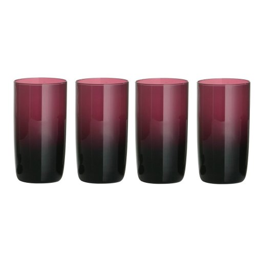 Hi Ball Glasses - Purple, Set of 4