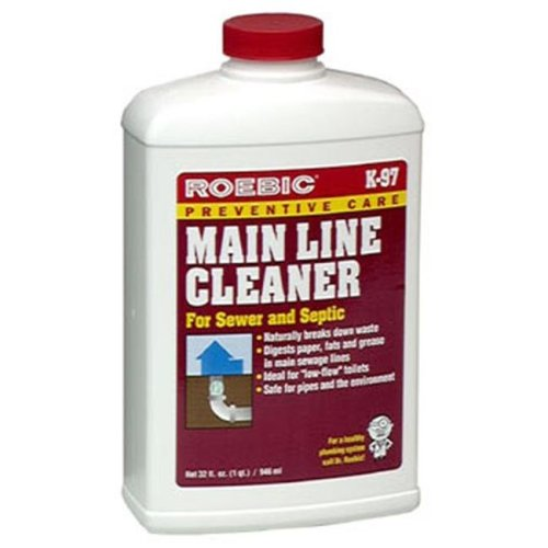 Roebic K-97 Main Line Cleaner 1 Quart Bottle