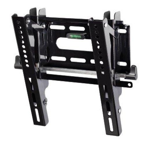 "Hama ""Next Light"" LCD/PL/LED Wall Bracket, VESA 200x200, can be tilted, black Black flat panel wall mount"