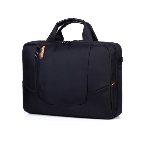 8a3e69575abe Laptop Shoulder Bag 15.6 Inches Black - Mens Messenger Bag Laptops Computer  Carry Case 15.6