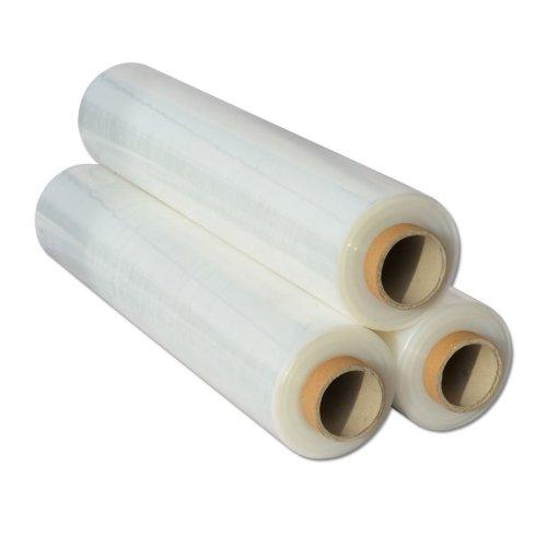 2x  Shrink Wraps Heavy Duty Clear Pallet Wrap Stretch Film 500mm x 450m 23mu 3kg