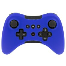 Protective cover for Wii U Nintendo pro Controller Silicone skin ZedLabz – Blue