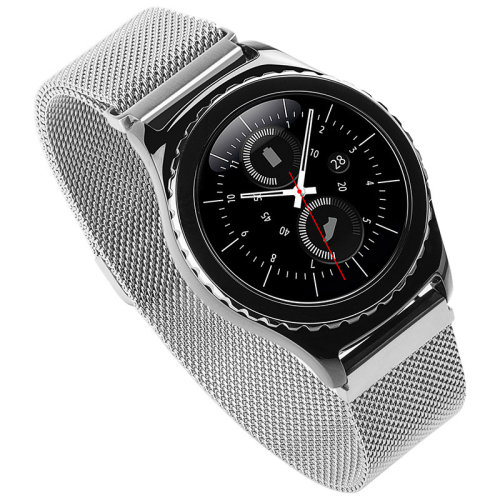 Samsung Gear S3, Frontier/ S3 Classic Milanese Various Metal Strap