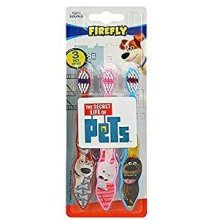 The Secret Life of Pets 3Pack Toothbrushes (Max,Snowball, Duke)