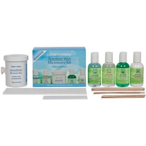 Clean + Easy Sensitive Wax Microwave Kit