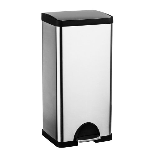 30 L Brushed Stainless Steel Pedal Bin