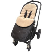 Footmuff / Cosy Toes Compatible with Buggy Pushchair Sand