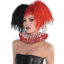 Halloween Circus Clown Adult Collar -