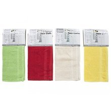 Pms Premium Quality Face Cloths W/border 3pack 30x30cm - 12 x Special Offer 4 -  12 x premium quality face cloths special offer 4 packs 3
