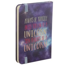 A6 Collectable Hardback Notebook - Cosmic Unicorn